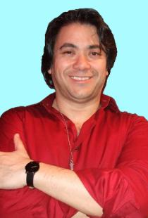 Kaju Roberto, sound engineer, editor, and webmaster for Talking Taiwan